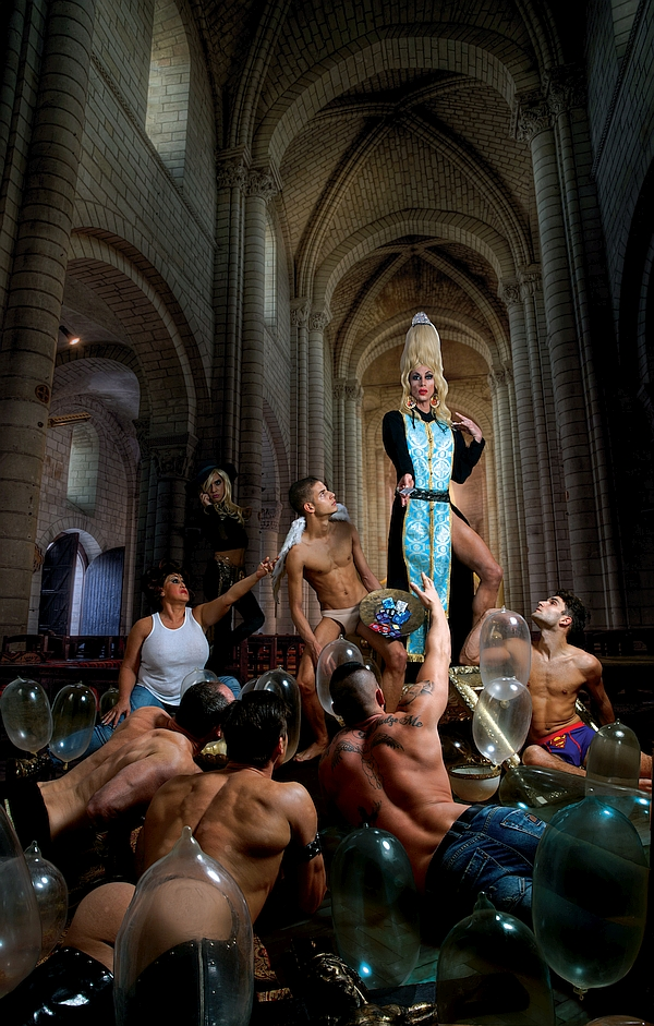 Lesbisch Spaß Kirche Blasphemie