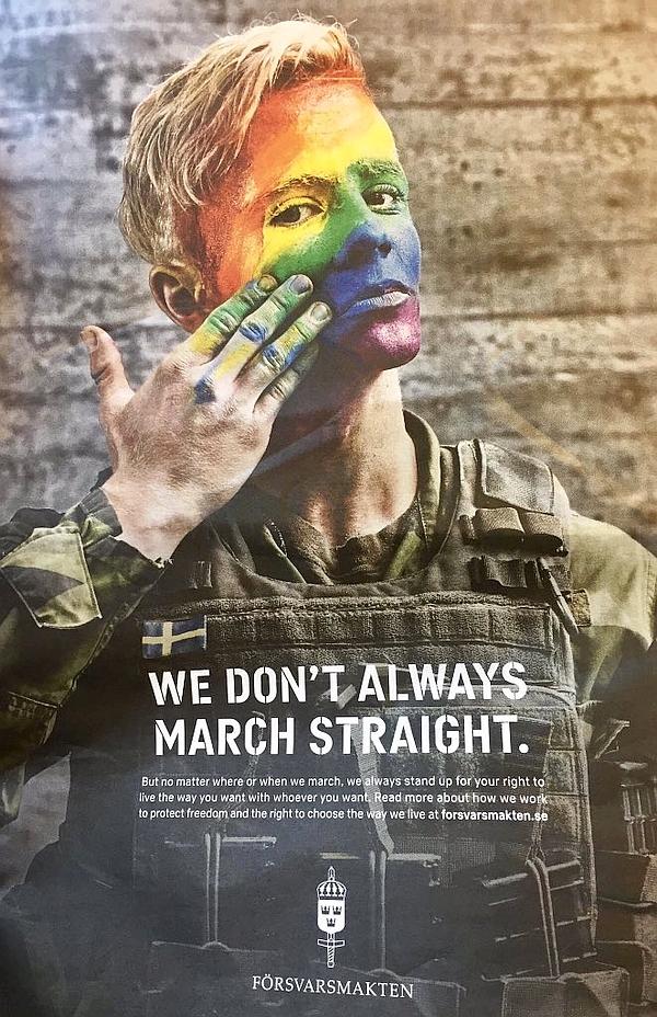 Websites der Homosexuellen Armee