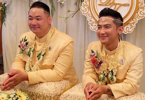 Schwule Hochzeit Bewegt Thailand Bild Des Tages 29 12 2016 Queer De