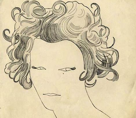 Sergio Toppis Geiger ist super Malerei, Zeichnungen, Character Design.