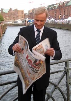 Ole von Beust war von 2001 bos 2010 Erster B�rgermeister der Freien und Hansestadt Hamburg. - Quelle: Wiki Commons / E. S. Myer / PD