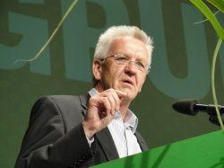 Ministerpr�sident Winfried Kretschmann (Gr�ne) - Quelle: Gruene Baden-Wuerttemberg / flickr / cc by-sa 2.0