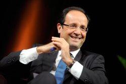 Der Sozialist François Hollande darf nun bis 2017 im schicken Élysée-Palast wohnen - Quelle: Wiki Commons / Jean-Marc Ayrault / CC-BY-2.0