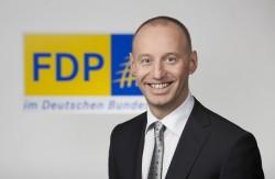 Der FDP-Abgeordnete Michael Kauch erklärte, die Grünen seien jetzt auf einer Linie mit der CSU - Quelle: FDP-bundestagsfraktion