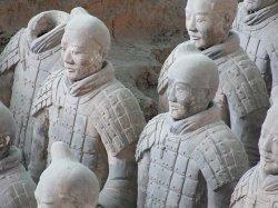 Land der Kontraste 2: Die Terrakotta-Krieger in Xi'an sind �ber 2.000 Jahre alt - Quelle: Britrob / flickr / cc by 2.0