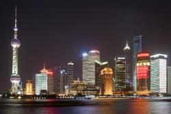 Land des Kontraste 1:  Moderne Skyline von Schanghai - Quelle: Robert S. Donovan / flickr / cc by 2.0