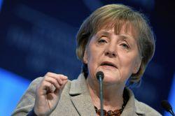 Bundeskanzlerin Angela Merkel lehnte im Wahlkampf mehrfach eine Gleichbehandlung von Schwulen und Lesben ab - Quelle: World Economic Forum / flickr / cc by-sa 2.0