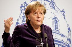 Angela Merkel lehnt die rechtliche Gleichbehandlung von Schwulen und Lesben ab - Quelle: Wir.Dienen.Deutschland. / flickr / cc by-nd 2.0