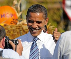 Am 6. November wird sich entscheiden, ob Barack Obama die USA noch vier weitere Jahre regieren darf - Quelle: IowaPolitics.com / flickr / cc by-sa 2.0
