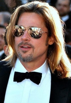 Brad Pitt 2012 in Cannes - Quelle: Wiki Commons / Georges Biard / CC-BY-SA-3.0