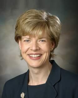 Tammy Baldwin will als erste Lesbe den US-Senat erobern - Quelle: United States Congress