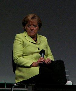 F�r Bundeskanzlerin und CDU-Chefin Angela Merkel darf eine Ehe nur aus Mann und Frau bestehen - Quelle: Hardo / flickr / cc by-sa 2.0