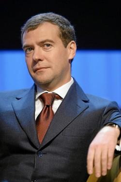 Dmitri Medwedew war von 2008 bis 2012 Pr�sident und ist seit dem 8. Mai 2012 Ministerpr�sident der Russischen F�deration - Quelle: World Economic Forum / flickr / cc by-sa 2.0