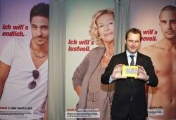 """Bei der Vorstellung der """"mach´s mit""""-Kampagne Ende März war auch Bundesgesundheitsminister Daniel Bahr (FDP) dabei - Quelle: BZgA"""