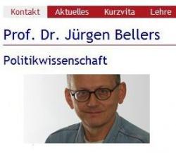 Ehemalige Seite der Uni Siegen f�r Professor Bellers