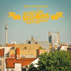 """Das neue Album """"Kopf, Stein, Pflaster"""" des Berlin Boom Orchestra ist am 2. Oktober 2015 erschienen"""