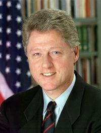 Ex-Pr�sident Bill Clinton