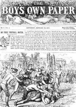 1879: Jede Zeit hat seine eigenen Medien und Medienmacher - Quelle: Wiki Commons / CC-PD-MarkPD OldPD US