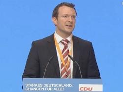 Der Berliner Delegierte Jan-Marco Luczak appellierte an die Anwesenden, für die Gleichbehandlung zu votieren – vergebens