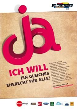CSD-Plakat - Quelle: ColognePride