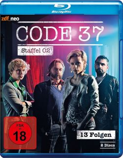"""Die zweite Staffel der belgischen Krimiserie """"Code 37"""" ist am 24. April 2015 auf DVD und Blu-ray erschienen"""