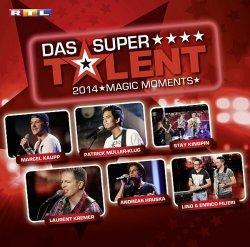 """Das Album zur beliebten RTL-Castingshow """"Supertalent 2014 � Magic Moments"""" ist am 22. Dezember 2014 erschienen"""