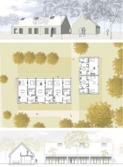 Entwurf des neuen Dirk-Bach-Hauses - Quelle: Aidshilfe Köln