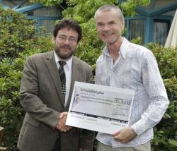 Domian mit Prof. Dr. Raymond Voltz, Direktor des Zentrums f�r Palliativmedizin (li.) - Quelle: WDR