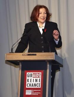 BZgA-Direktorin Elisabeth Pott - Quelle: BZgA