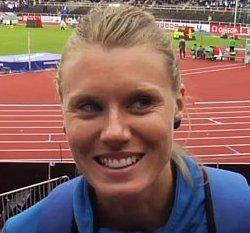 Emma Green Tregaro gehört zu den besten Hochspringerinnen Europas