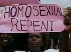 """Szene aus dem Film """"God Loves Uganda"""""""