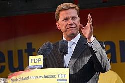 Bundesau�enminister Guido Westerwelle - Quelle: Dirk Vorderstrasse / flickr / cc by 2.0