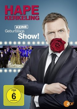 """Die Hommage zu seinem 50. Geburtstag """"Hape Kerkeling � Keine Geburtstagsshow!"""" ist am 20. Februar 2015 auf DVD und Blu-ray erschienen"""