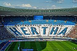Der Hauptstadtverein, der derzeit als Siebter in der 1. Bundesliga Aussichten auf das internationale Gesch�ft hat, setzt sich gegen Homophobie ein - Quelle: frankinho / flickr / cc by 2.0