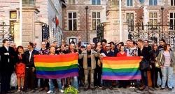 Auch in Orléans feierten Homo-Aktivisten die Entscheidung des französischen Parlaments