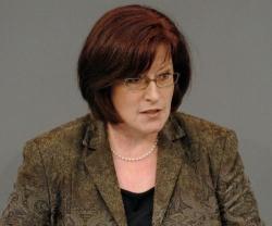 Die CDU-Abgeordnete Ingrid Fischbach aus Nordrhein-Westfalen will ihre Partei vor der Bundestagswahl modernisieren - Quelle: Deutscher Bundestag/Lichtblick/Achim Melde