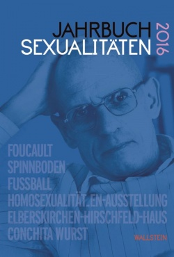 """Das """"Jahrbuch Sexualit�ten 2016"""" ist am 4. Juli 2016 erschienen"""