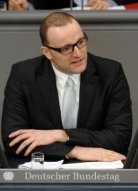 Jens Spahn will sich von seiner Parteifreundin nicht diffamieren lassen - Quelle: Deutscher Bundestag/Lichtblick/Achim Melde