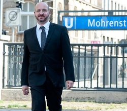 J�rg Litwinschuh (44, parteilos) ist seit einem Jahr Gesch�ftsf�hrender Vorstand der Bundesstiftung Magnus Hirschfeld (BMH) in Berlin - Quelle: BMH