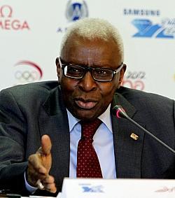 IOC-Mitglied Lamine Diack - Quelle: Wiki Commons / Doha Stadium Plus Qatar / CC-BY-2.0