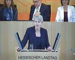 Lena Arnoldt (CDU) gibt sich als resolute Kämpferin gegen Diskriminierung, auch wenn aus ihrer Partei oft andere Töne kommen