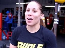Liz Carmouche war früher Soldatin im Irak – jetzt will sie zum Boxstar aufsteigen