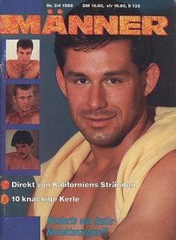 """""""Männer"""" lieferte im Jahr 1988 """"10 knackige Kerle"""" (mit merkwürdigen Frisuren)"""
