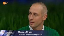 Marcus Urban freut sich dar�ber, dass sich im Sport etwas tut - Quelle: Screenshot ZDF