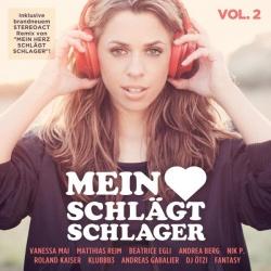 """Die Doppel-CD """"Mein Herz schl�gt Schlager � Vol. 2"""" ist am 22. Juli 2016 erschienen"""