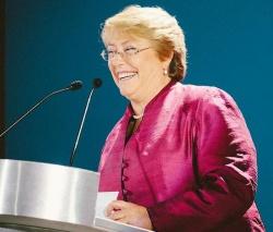 Pr�sidentin Michelle Bachelet unterst�tzt die Gleichstellung von Schwulen und Lesben