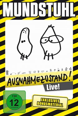 """Das erfolgreichste Live-Programm """"Ausnahmezustand"""" von """"Mundstuhl"""" ist am 13. Februar 2015 auf DVD und CD erschienen"""