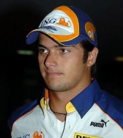 """Nelson Piquet Jr. wollte sich mit der """"Schwuchtel""""-Beschimpfung einen Spa� erlauben � daf�r darf er fortan nur auf Bew�hrung bei NASCAR mitfahren - Quelle: Jose Cruz"""