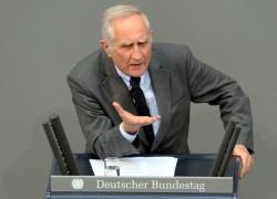 Selbst die Parteifreunde der LSU weinen Norbert Geis keine Träne nach - Quelle: Deutscher Bundestag/Lichtblick/Achim Melde