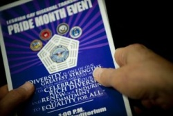 "Einladung zum ""Pride Month Event"" - Quelle: United States Department of Defense"